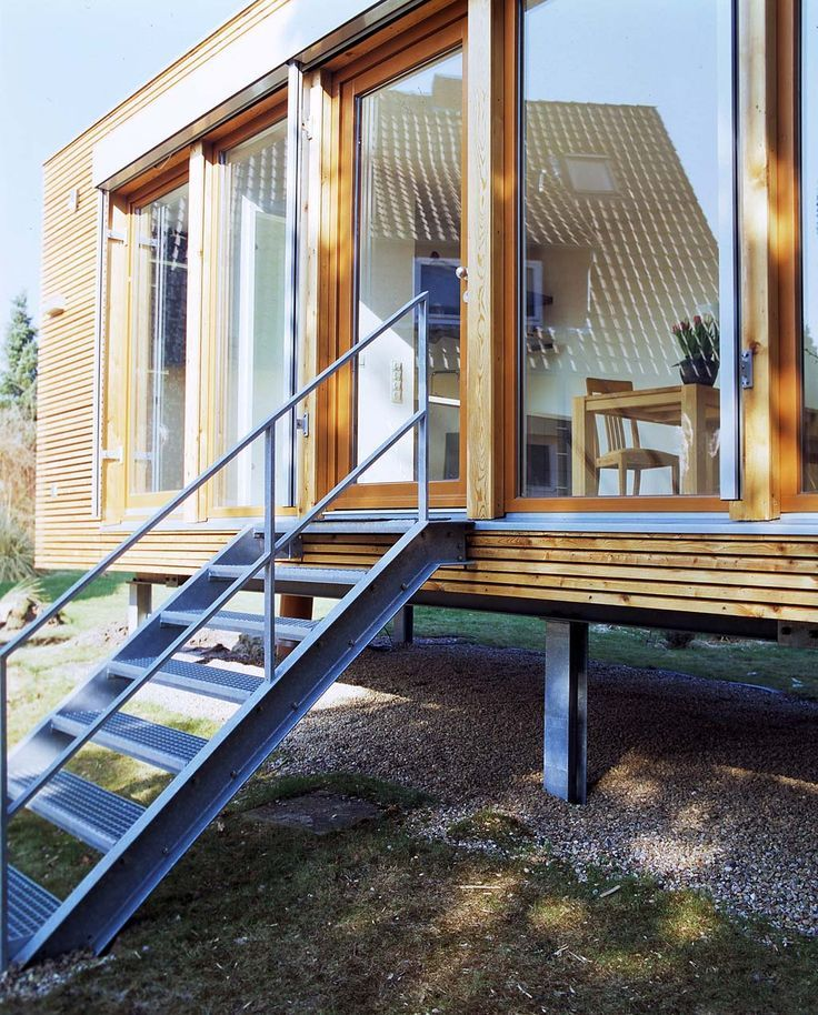 Container Haus Deutschland Prefabricated House Bungalow: Mini-houses: Of Course Living In The Wood-prefabricated