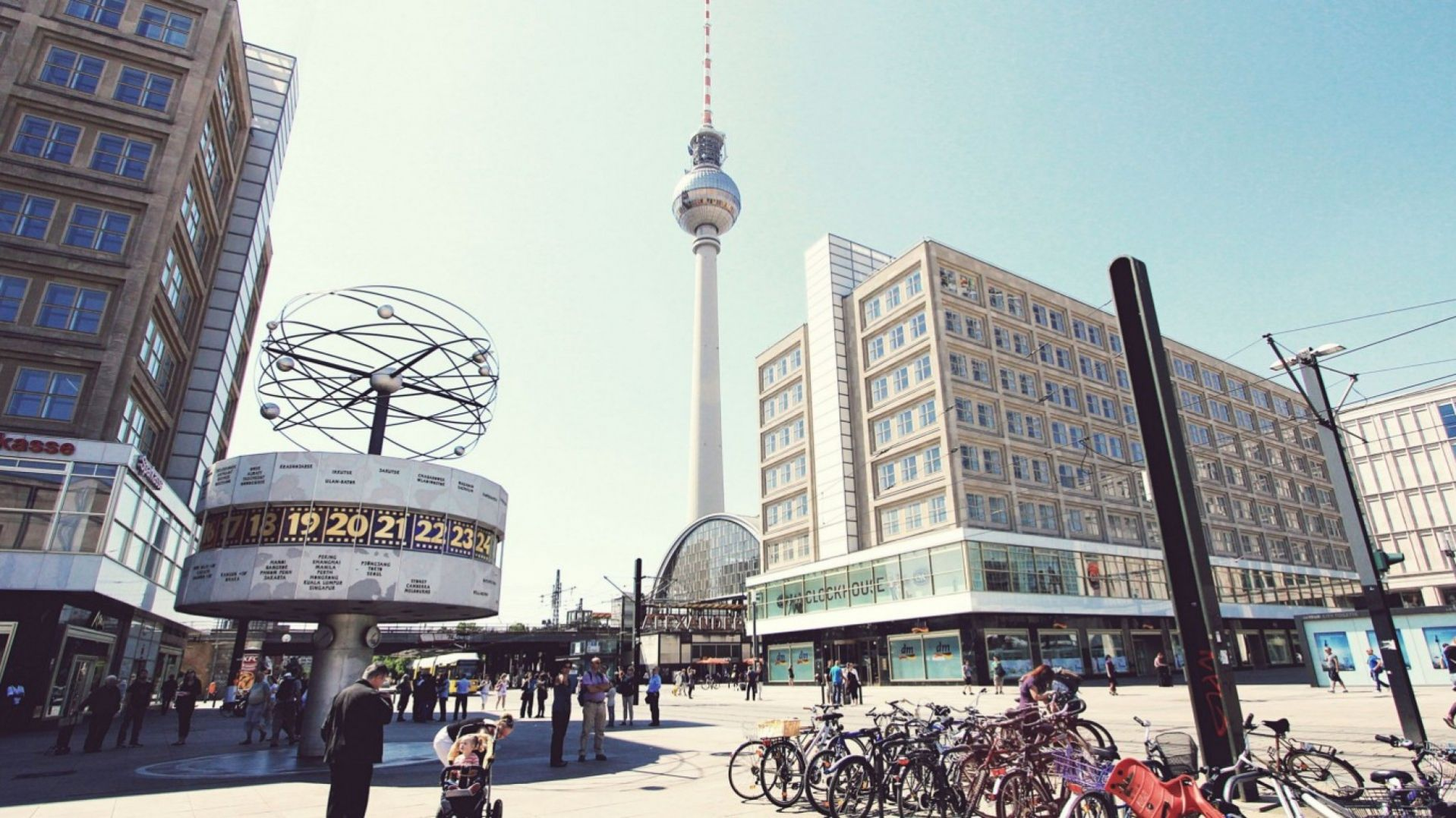 Check Out Television Tower Berlin Germany Hd Wallpapers In Wide We Add Quality Wallpapers Cover Pictures And Funny Picture Berlin City World Images Cityscape