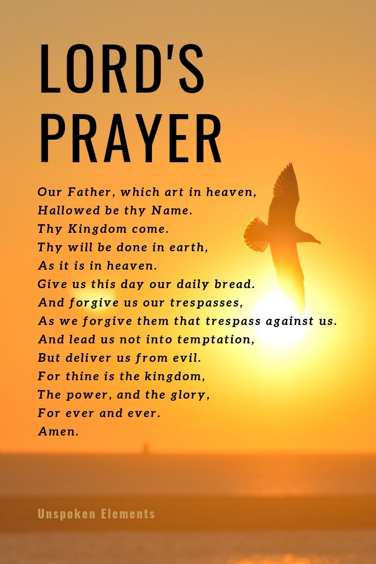 The Lord's Prayer images