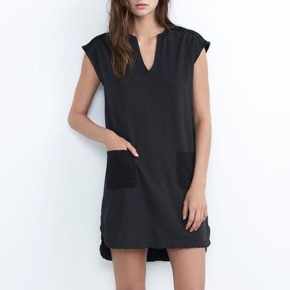 Velvet By Graham & Spencer Woman Crepe Dress Black Size S Velvet R4amULz