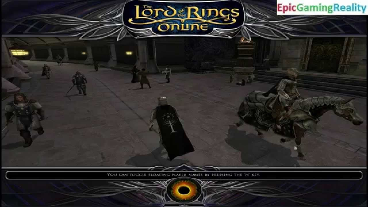 The Lord Of The Rings Online Helm's Deep Update 17 Champion Class