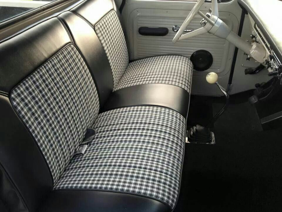 Reapolstered Factory Bench Seat Car Interior Upholstery Truck Interior Automotive Upholstery