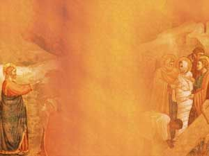 Raising Of Lazarus Powerpoint Templates Themes And Backgrounds