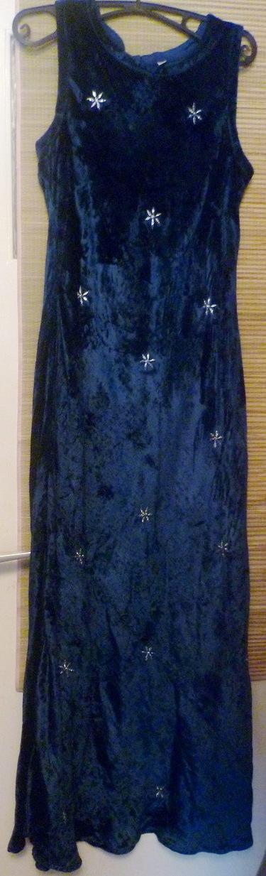 Samt-Traum-Kleid