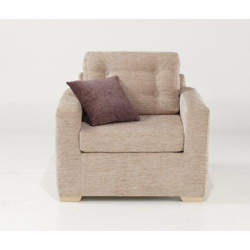Button Back Armchair Churchfield Upholstery Charcoal