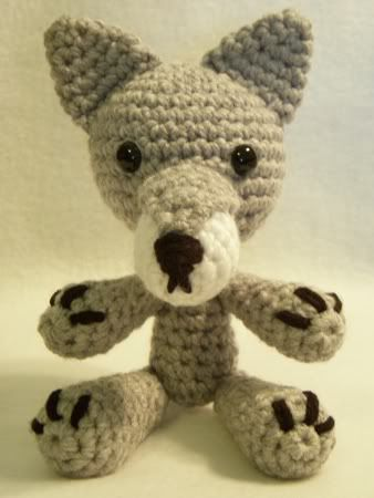 Crochet Wolf - The Crafty Cattery - free pattern   Crochet ...
