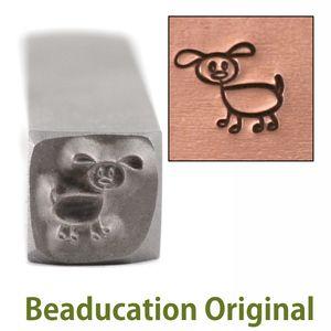 016-03 Little Cat Leather Stamp Tool Brass handmade