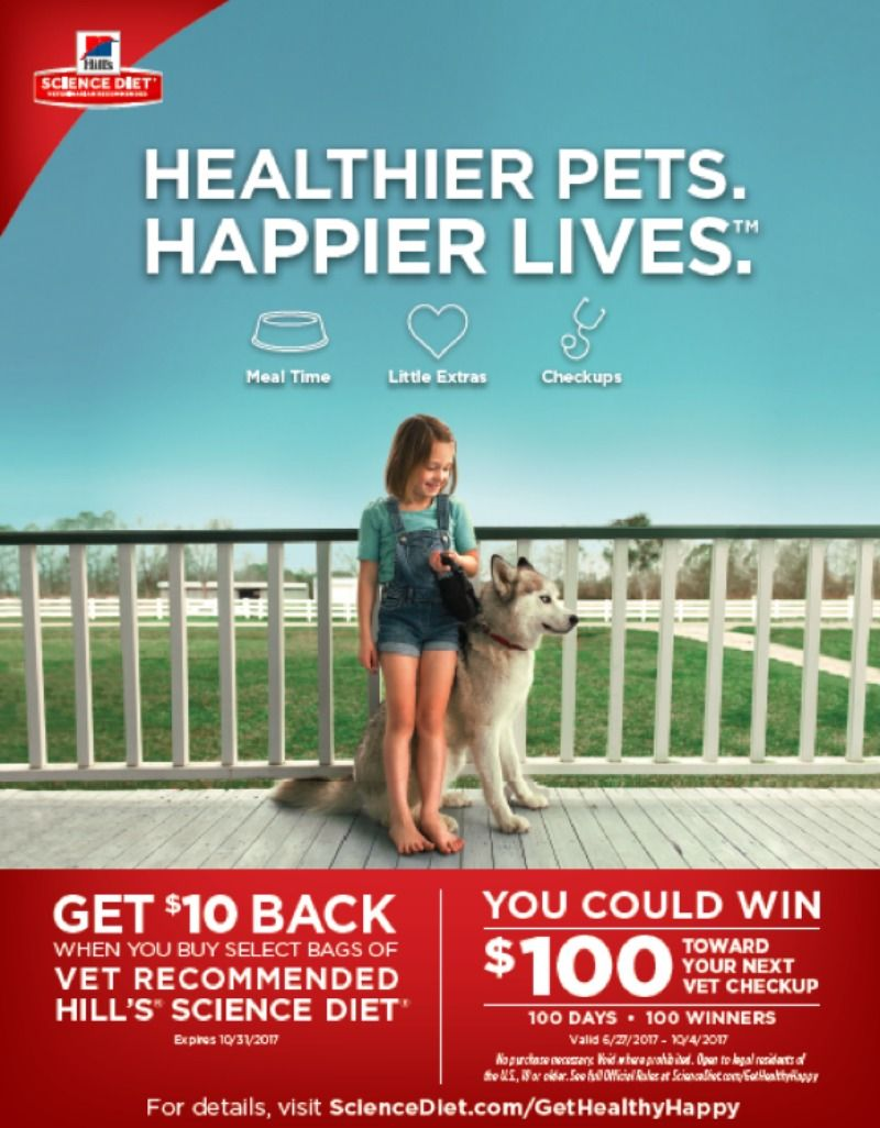 How You Can Have Healthier Pets. Happier Lives.™ + a