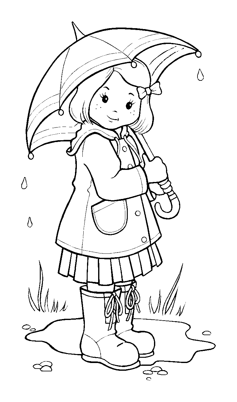 Madchen Mit Regenschirm Nahen Ideen Ausmalen Ausmalbilder Und Das Beste Von Madchen Malvorl Bilder Zum Ausmalen Fur Kinder Kostenlose Ausmalbilder Ausmalbilder