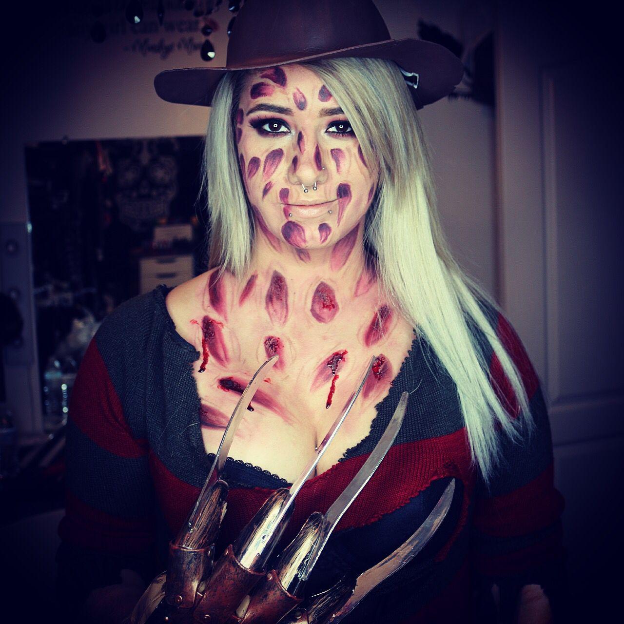 Freddy Krueger special effects makeup Halloween ideas monster ...