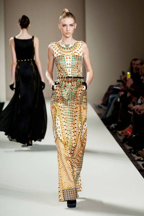 temperley london fall 2013 ready to wear collection pinterest temperley egyptian and sheer