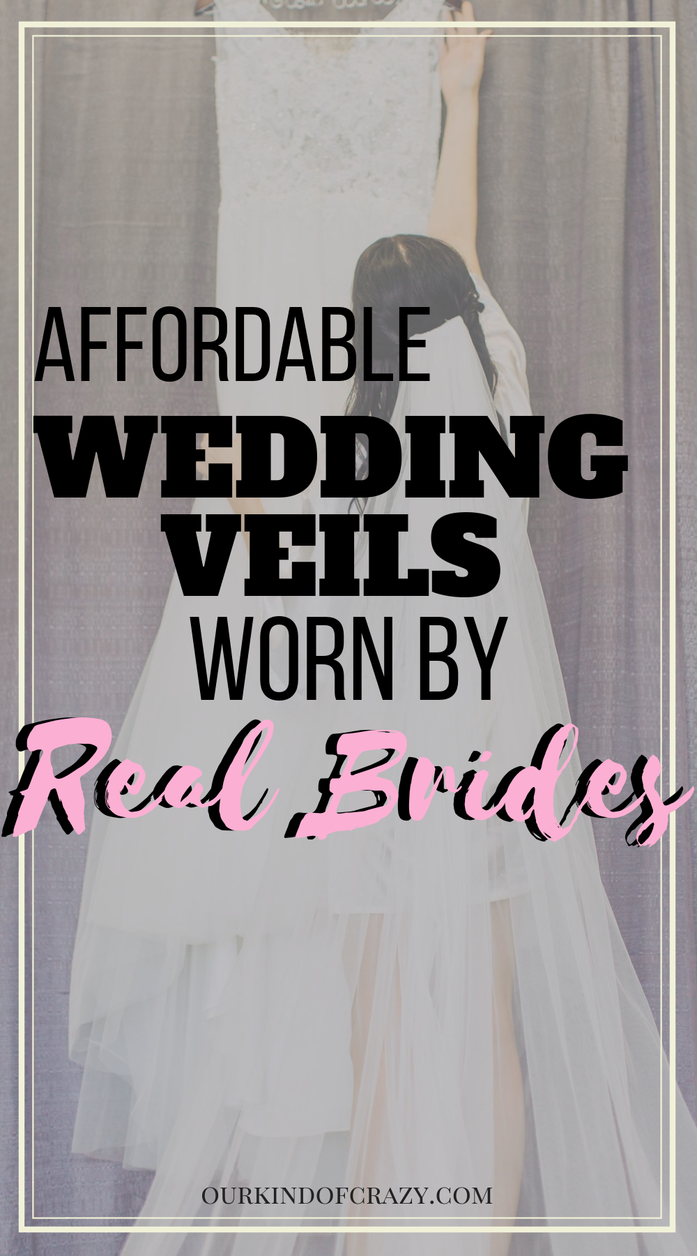 6334b3d0e Best Wedding Veils From Amazon! Looking for beautiful but affordable and  cheap wedding veils  Here is a list of real brides who got their perfect  veils from ...