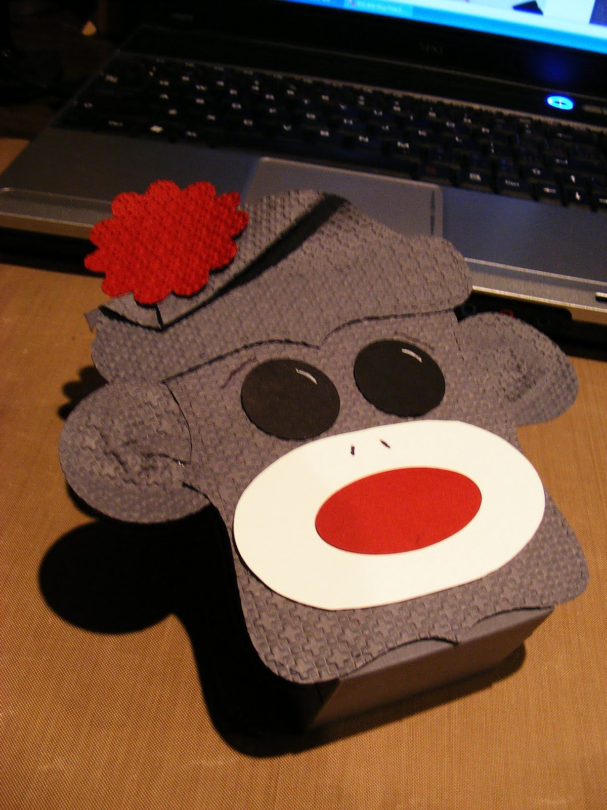 Dream, Create, and Share: Sock Monkey Character Box