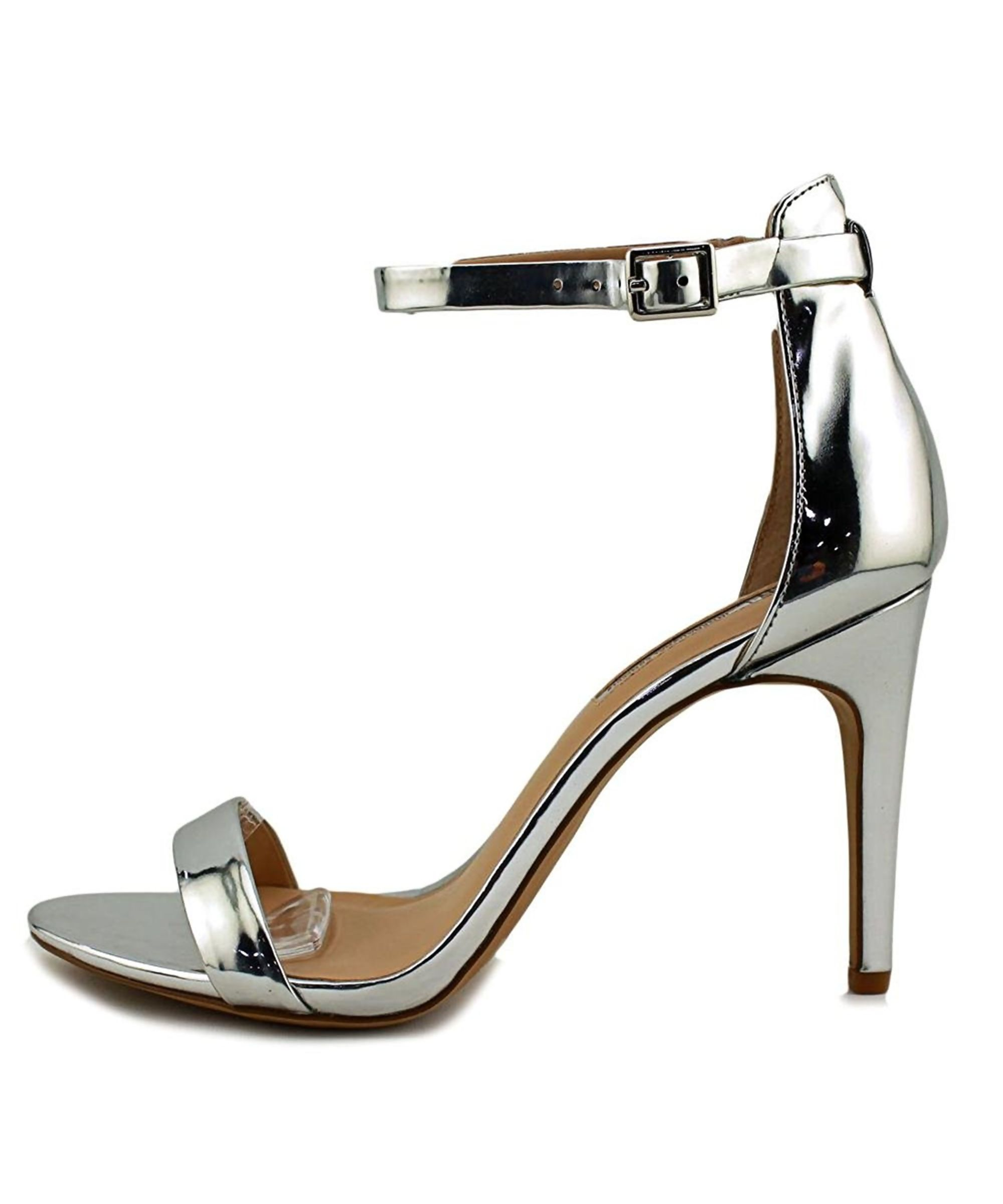 INC International Concepts Womens Roriee Open Toe Casual pale silver Size 100
