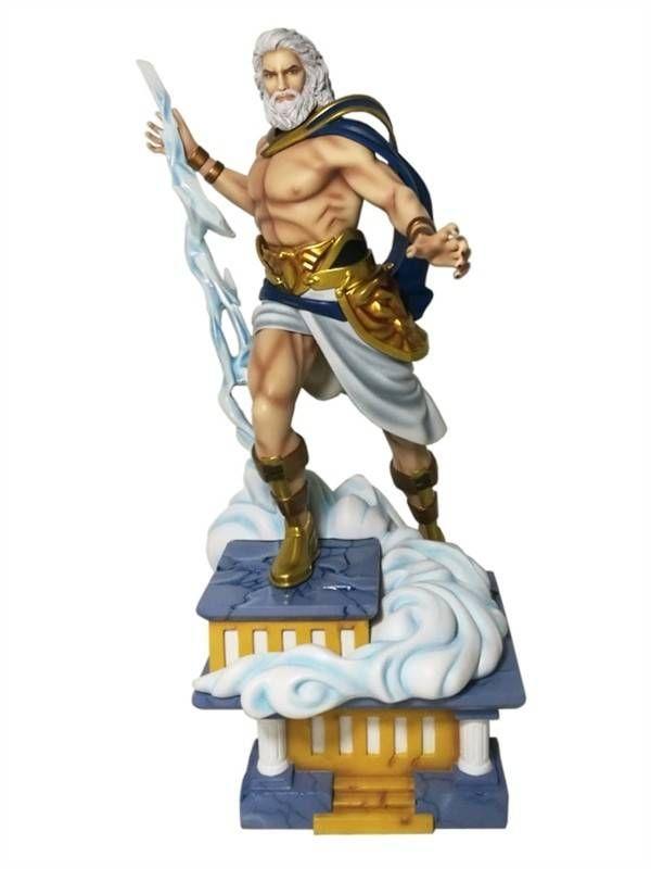 Fantasy Figure Gallery Greek Mythology Collection Statue 1 6 Zeus Wei Ho 38 Cm Fantasy Figures Zeus Zeus Greek Mythology