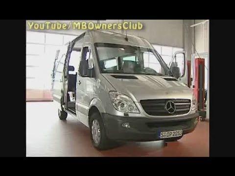 Mercedes Benz — Remove/install front headliner (Sprinter) | Sprinter