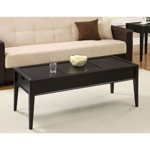 Marvelous Coffee Table With Storage Black Espresso Home Coffee Pdpeps Interior Chair Design Pdpepsorg