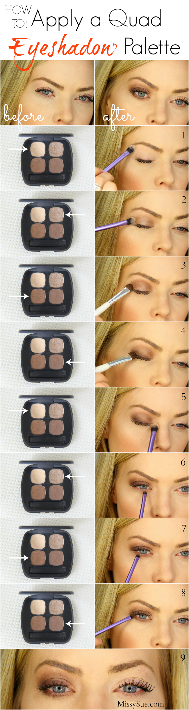 How To Apply Eyeshadow  Missy Sue