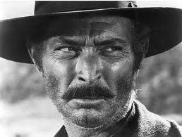 """Lee Van Cleef as """"Angel Eyes"""" in The Good, The Bad and The Ugly"""