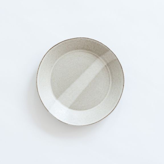 Mocium Shop/// Eric Bonnin Oatmeal Kam Salad Plate///For Your Table