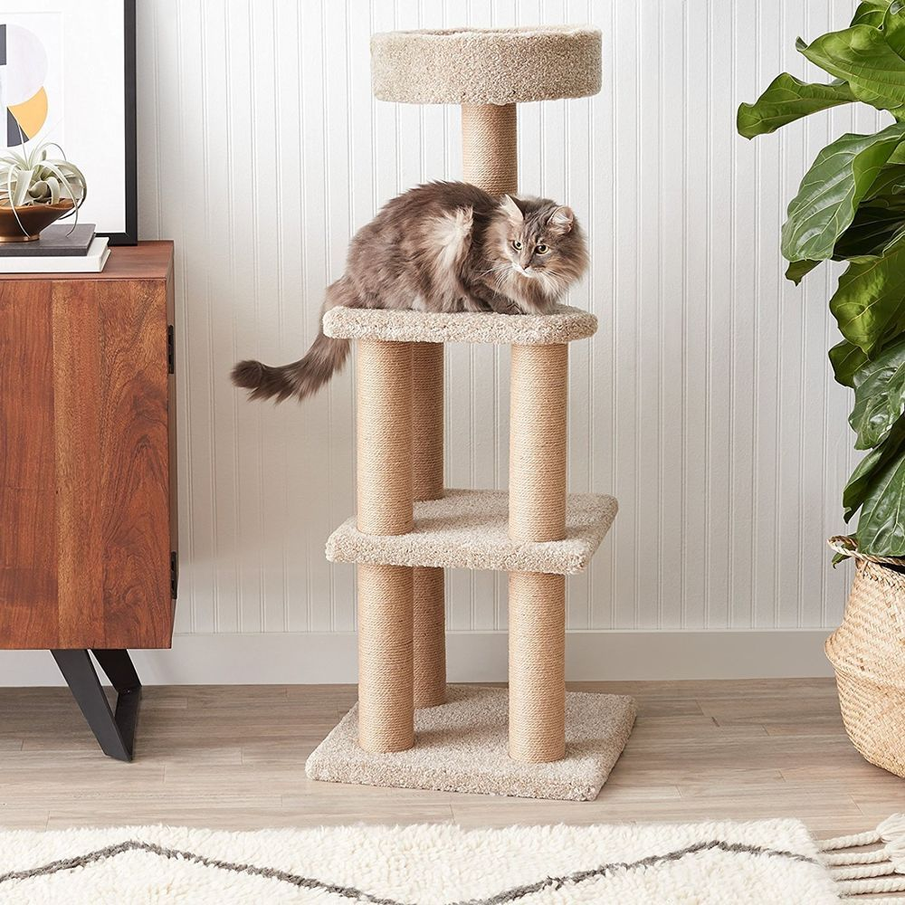 Cat Tree Tower Condo Furniture Scratching Post Pet Kitty Activity Play House Basic Cat Tree House Cool Cat Trees Cat Tree Scratching Post