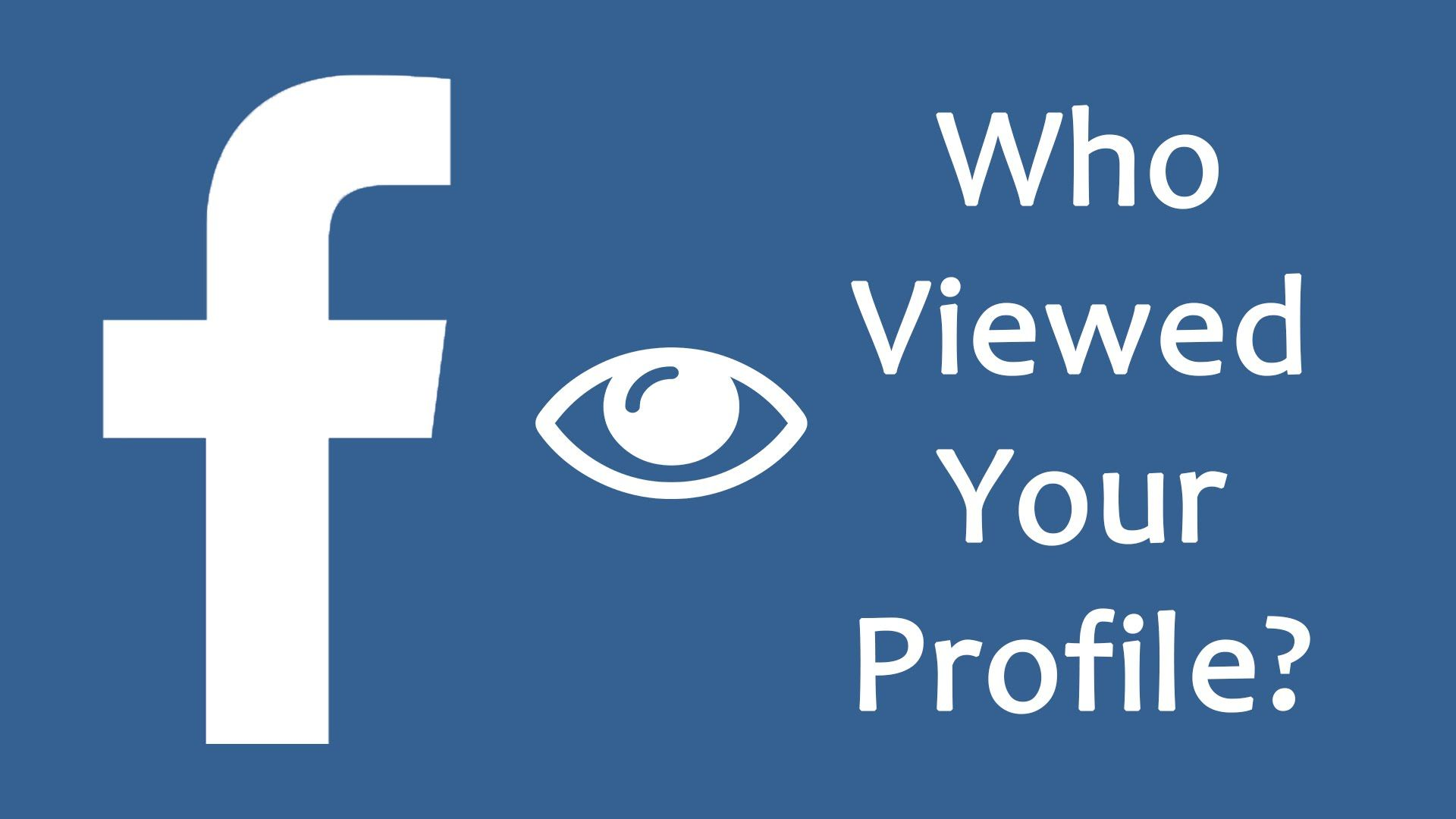 How To See Who Viewed Your Facebook Profile Most Often Who Viewed My Facebook My Facebook Profile Facebook App
