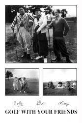 #Three #Stooges #poster: #Golf With Your #Friends (24'' X 36'') 3 Stooges Only $6.97 at www.moviepostersetc.com