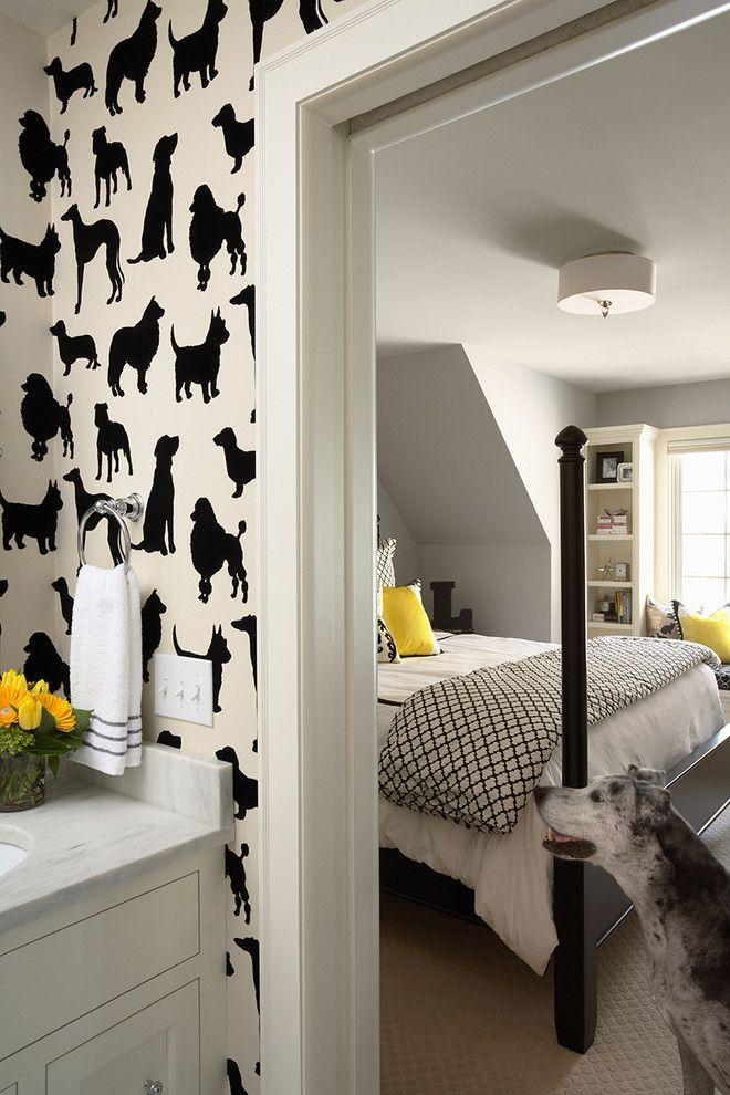 diy tapezieren tapete selber gestalten und kleben haus tapeten haus und moderne tapeten. Black Bedroom Furniture Sets. Home Design Ideas