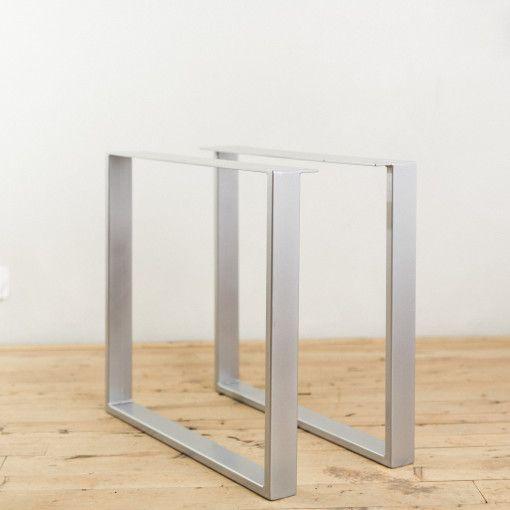 Powder Coated Steel U Shape Table Legs Factor Fabrication Table Legs Steel Table Legs Steel Table