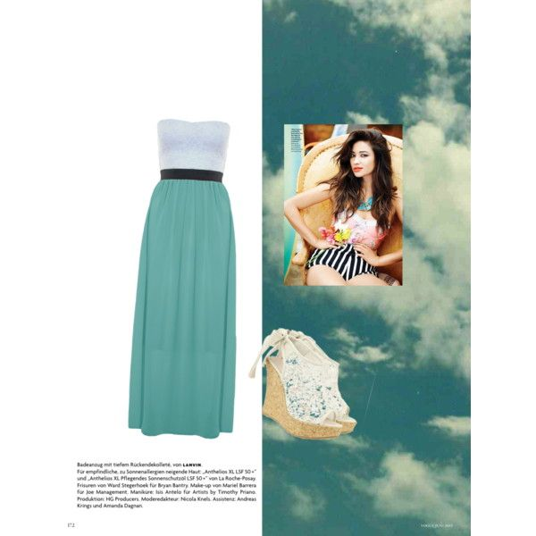"""""""Summer dress"""" by mandapaigexo on Polyvore"""