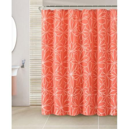 Luxury Home Cypress 13 Piece Jacquard Shower Curtain Set