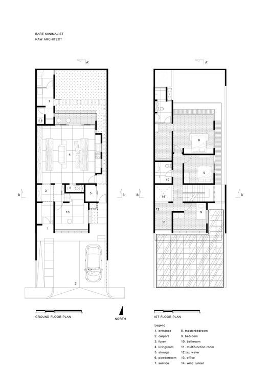 House In Jakarta Raw Architecture Narrow House Plans Small House Architecture Architecture House