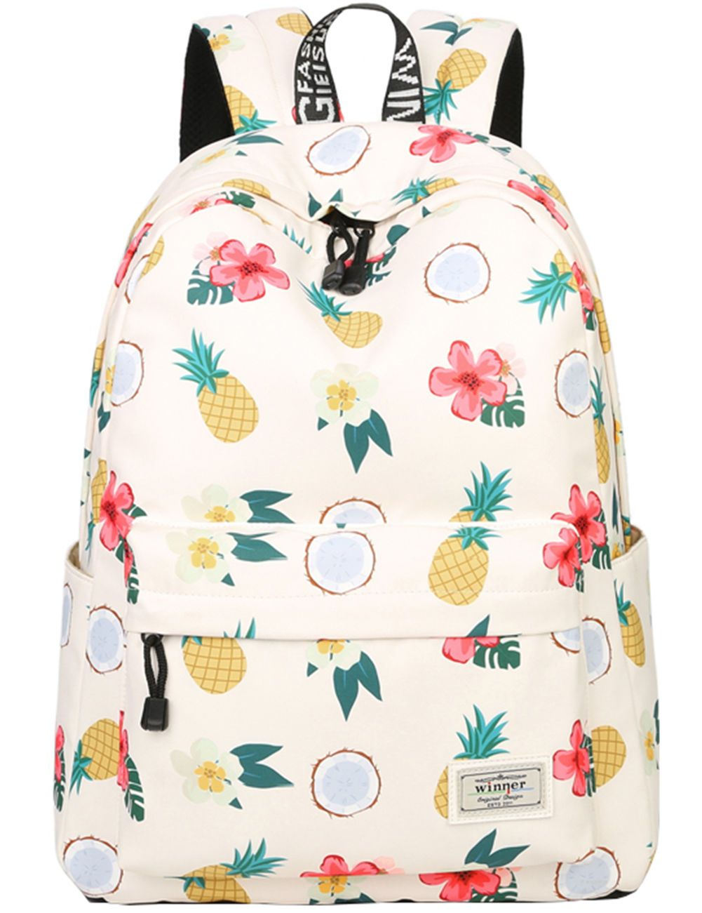 dbafb470b723 Details about School Bookbags for Girls, Cute Pineapple Backpack ...