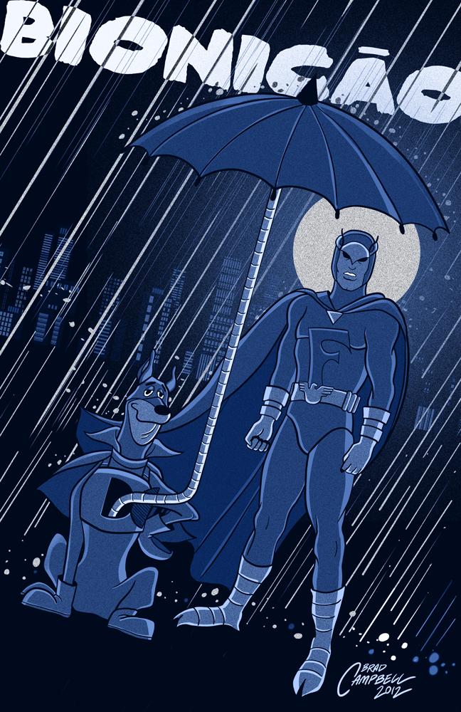 Dyno-Mutt and Blue Falcon