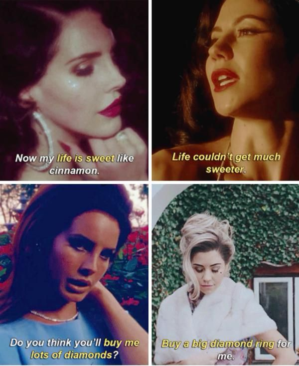 Lana del rey and marina and the diamonds
