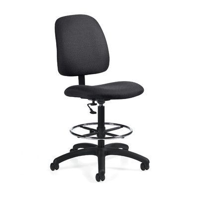 Global Total Office Goal Armless Drafting Pneumatic Task Chair Upholstery: