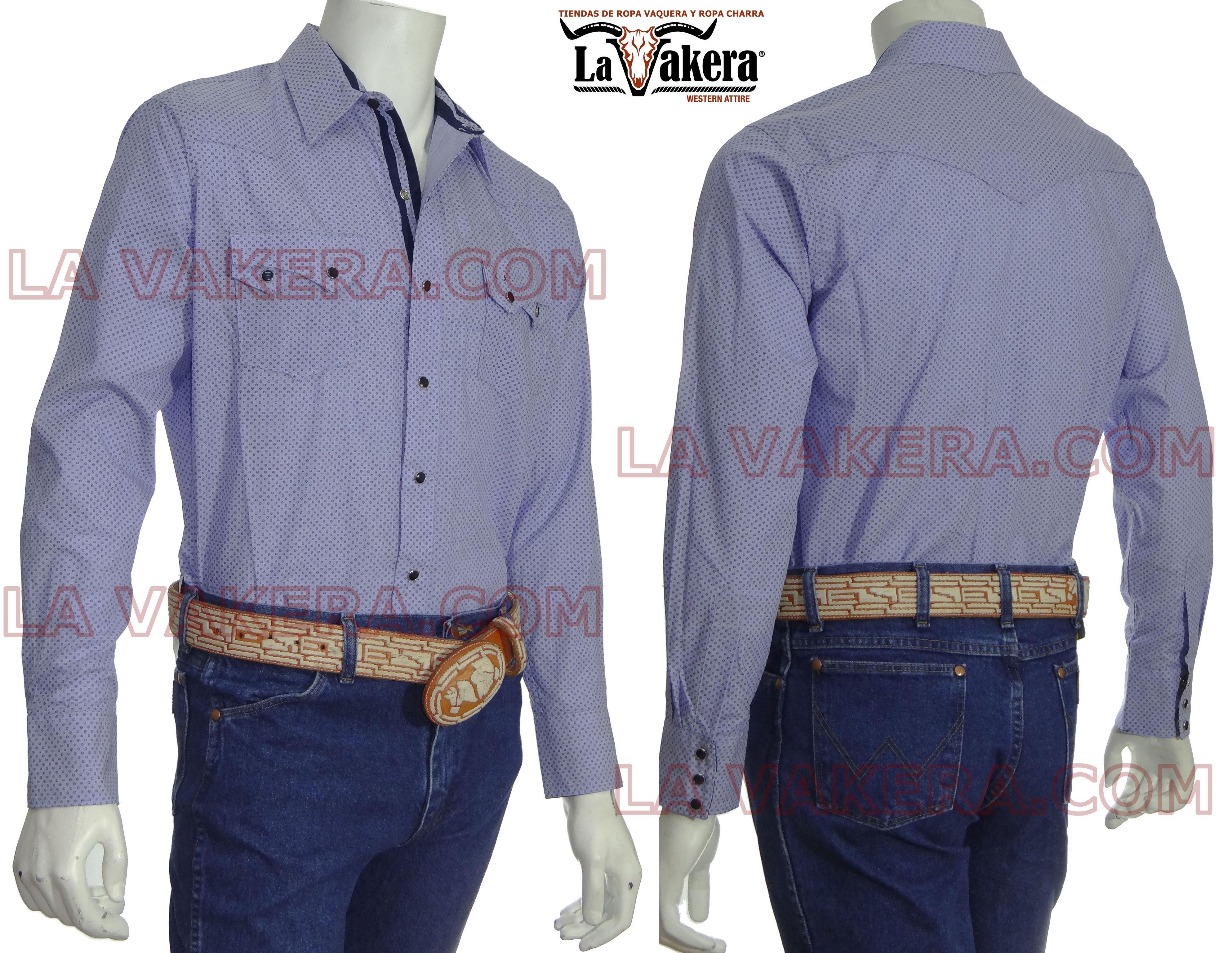 1d8235f645 Camisa Vaquera - Rodeo Carte - La Vakera - Ropa Vaquera - Azul ...