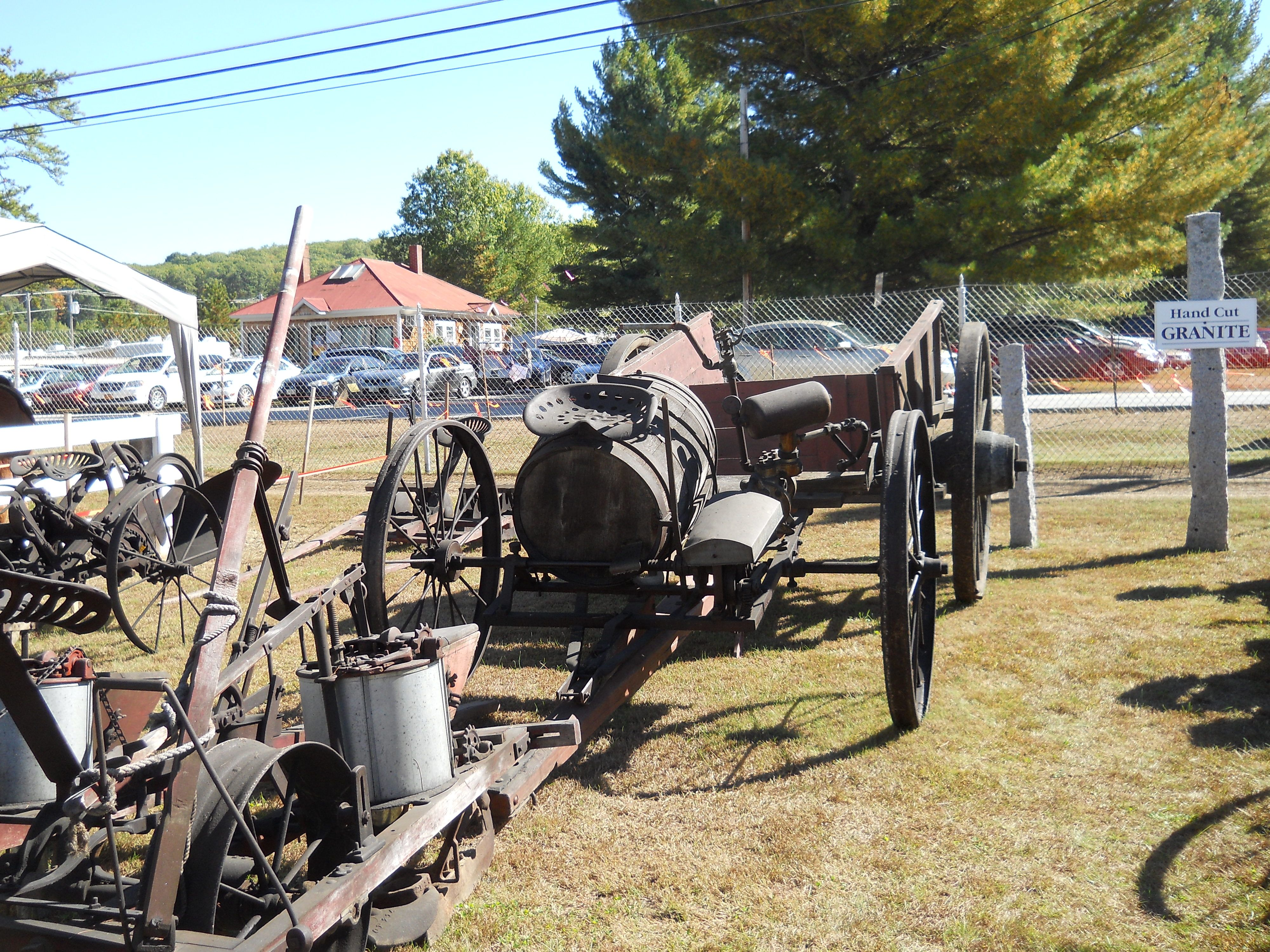 Iron Wheel Tractors : Iron wheel rusty old farm equipment pictures from my