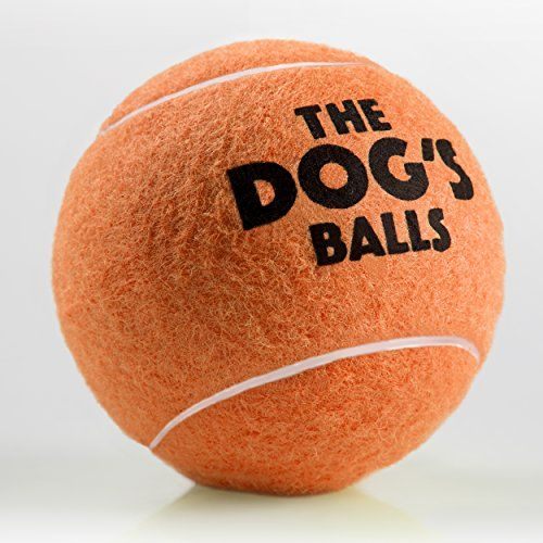 The Big Dogs Balls 3 Large Orange Tennis Balls Premium Strong Dog Toy Ball For Dog Play Fetch Large Dogs Balls Too Big F Strong Dog Toys Dog Ball Dog Toy Ball