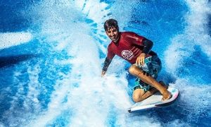 Groupon - FlowRider Wave Ride with Pool Entry & Beverage ...