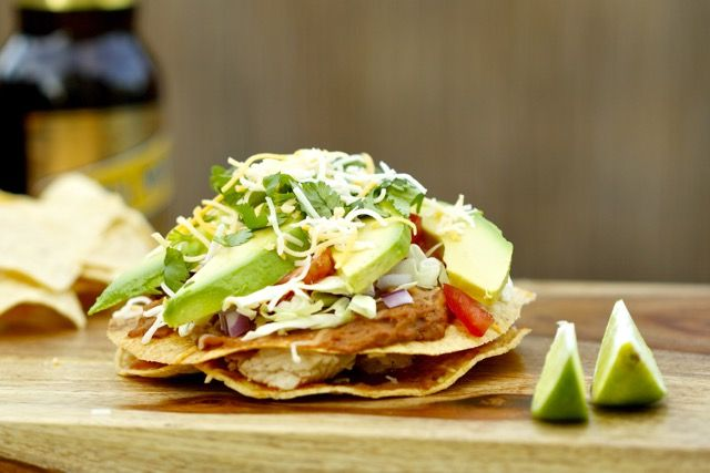 Tasty Grilled Chicken Chalupa Recipe #cooking