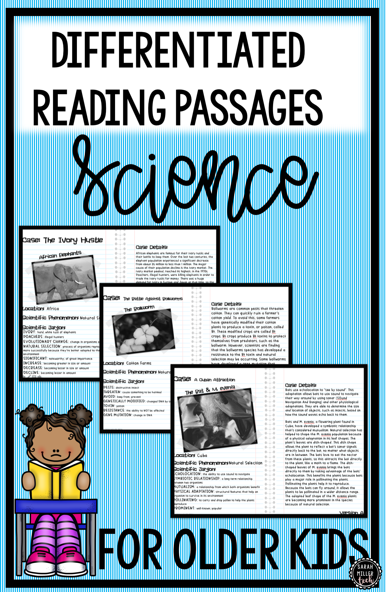 Science Reading Activity Natural Selection And Graphing