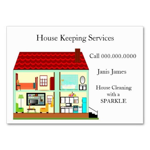 House cleaning business card cleaning business business cards and house cleaning business card colourmoves Images
