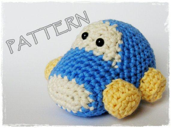 Amigurumi Car crochet pattern stuffed toy tutorial pdf от ByMarika, $3.50