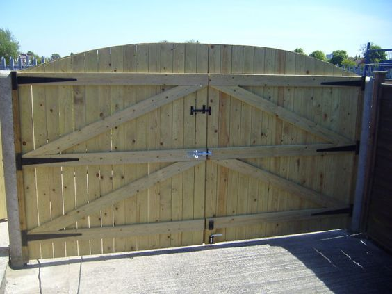 Wooden Driveway Gates Treated 6ft High X 8ft Wide Wooden Gates Wooden Gates Driveway Wood Gates Driveway Wooden Fence Gate