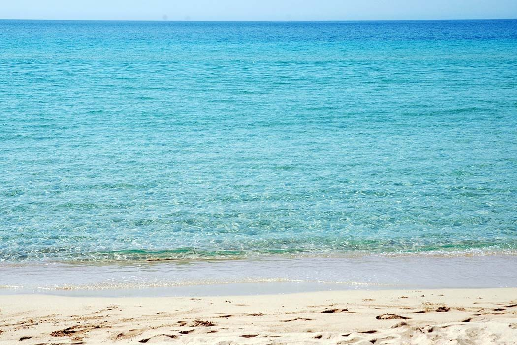 Top 10 Puglia Beaches in Italy The sea of Marina di Pescoluse. By: Morail