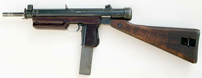 Sa vz. 24 / CZ Model 25 series submachine gun Manufactured c.1948-68 by ČZUB in Czechoslovakia.
