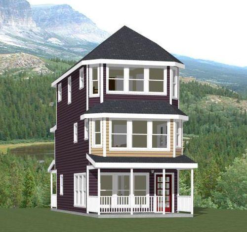 16x30 House -- #16X30H18F -- 1,489 sq ft | tiny homed