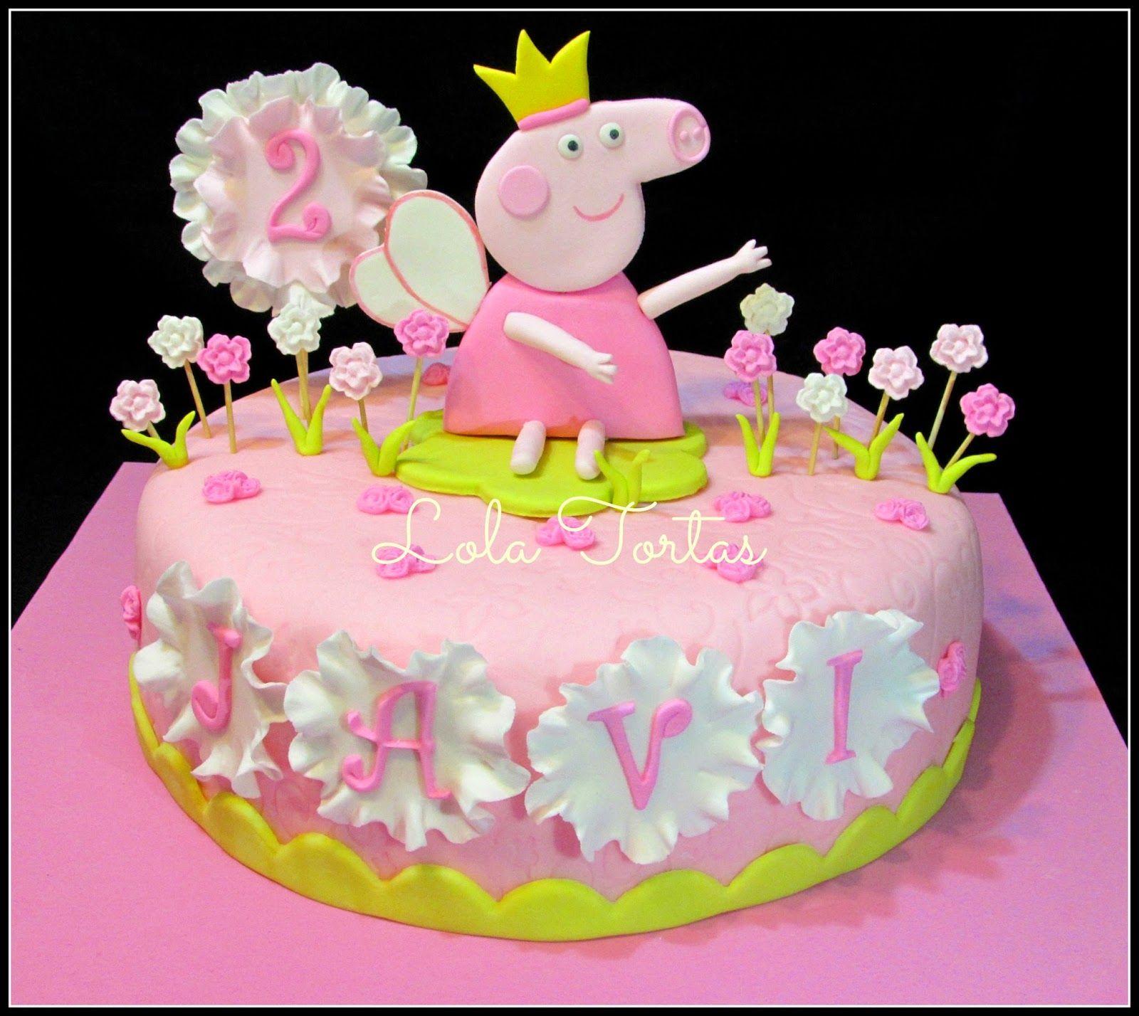 Torta Peppa la cerdita Peppa Pig cake My cakes