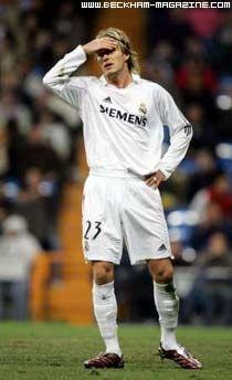 David Beckham wearing adidas Predator Absolute DB 2005